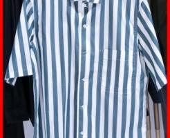 ユニクロ×ルメール2016春夏のストライプシャツ