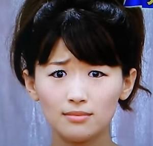 沙羅の綾瀬はるかの顔