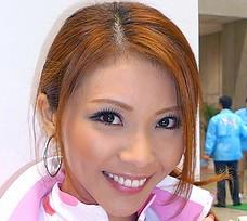 五十川敦子の顔画像(レースクイーン)