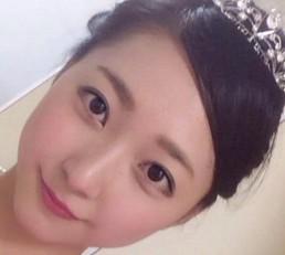 畠山愛理のミス日本2015写真