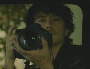 福山雅治の映画SCOOPのカメラ