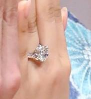 福原愛の指輪