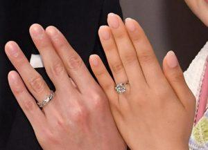 福原愛の結婚指輪