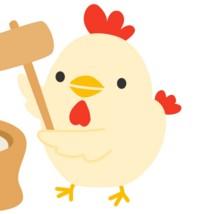 年賀状2017酉(鳥・鶏)の可愛いイラスト