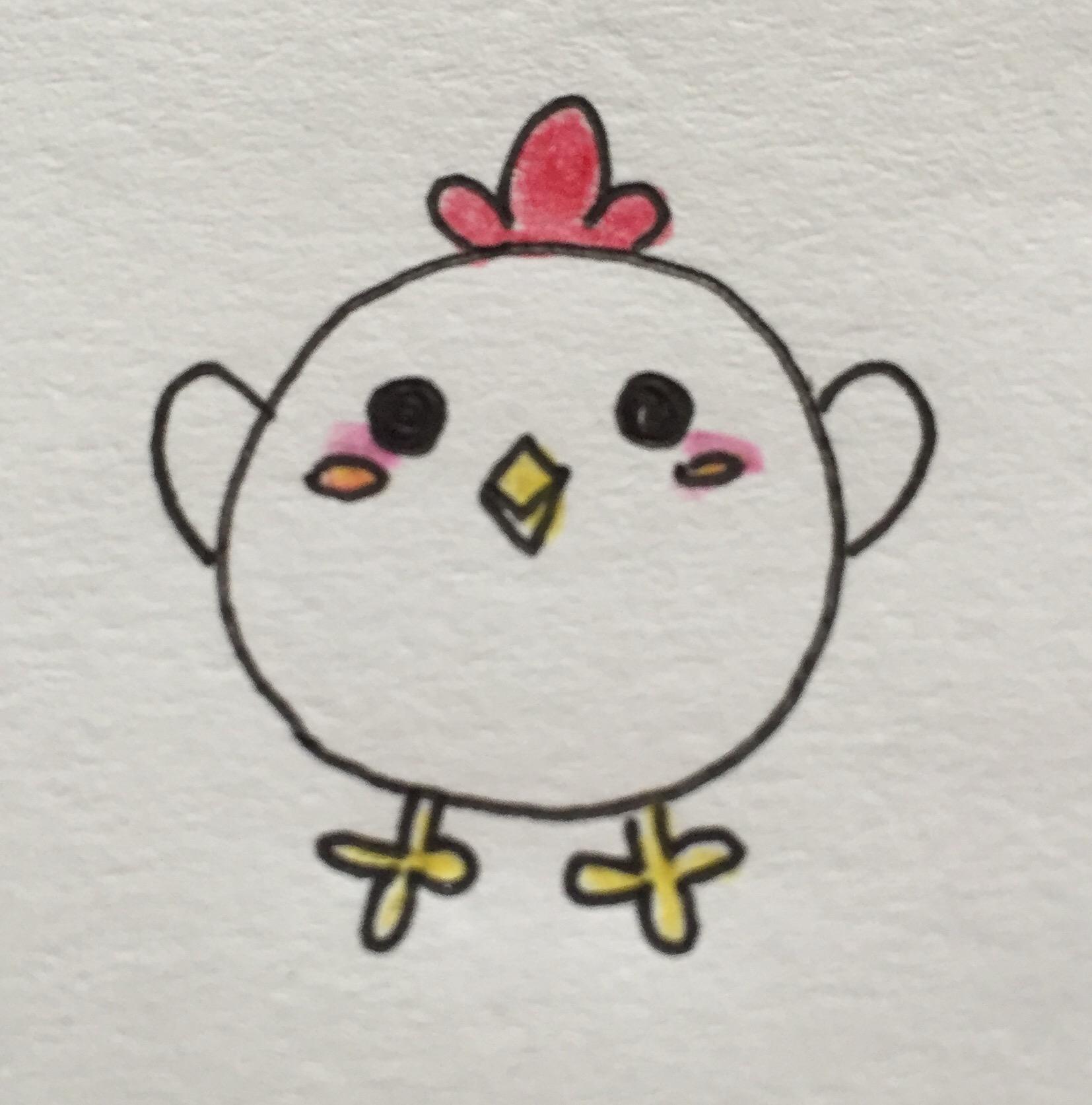年賀状2017酉鳥の可愛いイラストの描き方を調査簡単に描く方法は