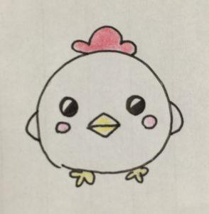 年賀状2017(酉・鳥)イラスト・キャラクター