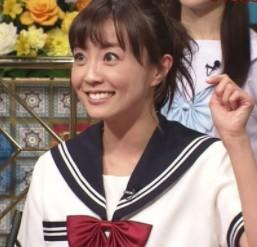 小林麻耶のセーラー服画像