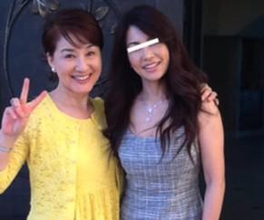 松居一代と成田美和の画像