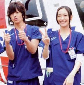 新垣結衣と山下智久(コードブルー2008年)