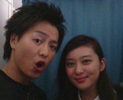 武井咲とTAKAHIROのツーショット画像写真