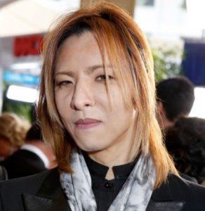 YOSHIKIのすっぴん画像写真