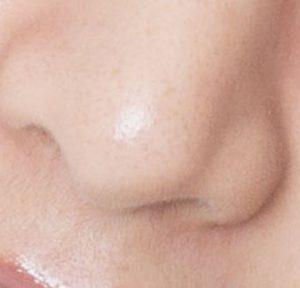 山本美月の鼻毛の鼻だけ拡大画像写真2