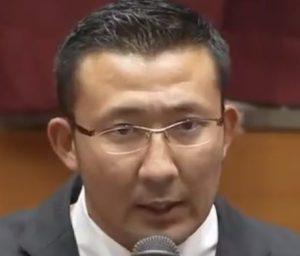 井上奨日本大学アメフトコーチの画像写真(会見)