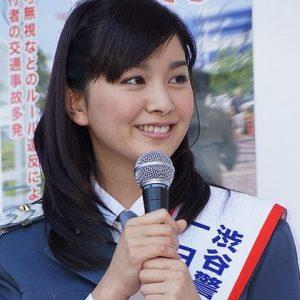 石橋杏奈の画像写真(一日警察署長)