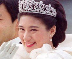 雅子さまの結婚当時写真