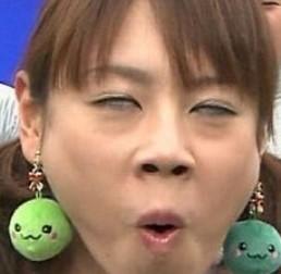 高橋真麻の変顔画像