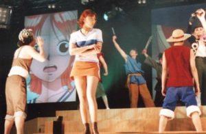 尾田栄一郎の嫁画像(稲葉ちあき)ミュージカル