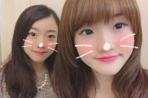 紀平梨花と紀平萌絵の姉妹画像1