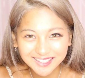 ゆきぽよ木村有希の半顔メイク画像写真
