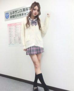 池田美優みちょぱの卒アル高校画像2