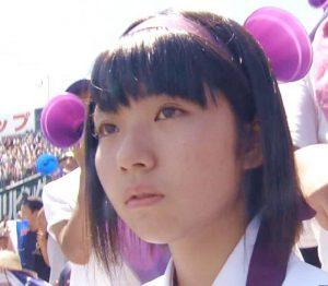金足農業高校の可愛い女子(アルプス応援)2