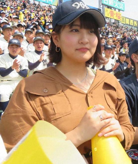 首藤桃奈の現在の画像(大分高校のマネージャー)5