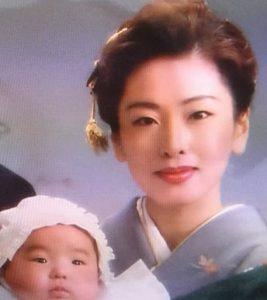 貴景勝の母親の若い頃画像(高画質)1