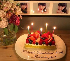 松野莉奈のインスタ親アカウント誕生日