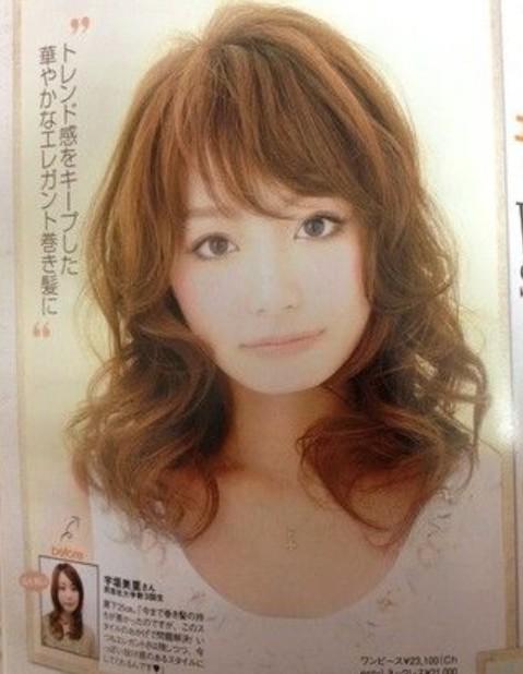 宇垣美里の画像サロンモデル大学生時代