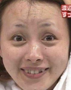 渡辺美奈代のすっぴん画像拡大