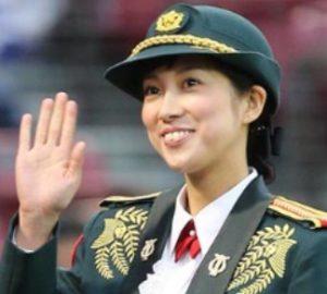 鶫真衣陸士長の画像写真
