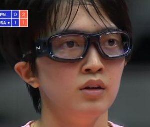 鍋谷友理枝のゴーグルメガネ画像2