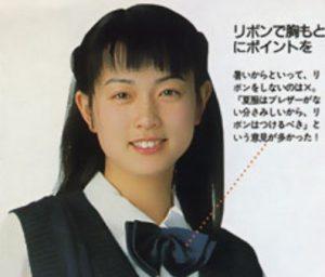 長谷川京子の昔の画像(高校)16