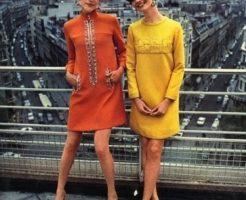 ミニスカート流行の1960年代ファッション2